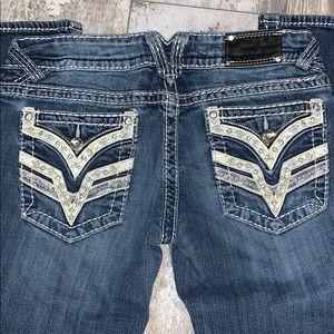 Vigoss Jeans - Vigoss Dallas Slim Boot Jeans 7/8x33